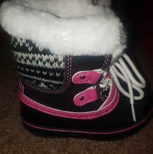 Toddler Girl Winter Snow Boots